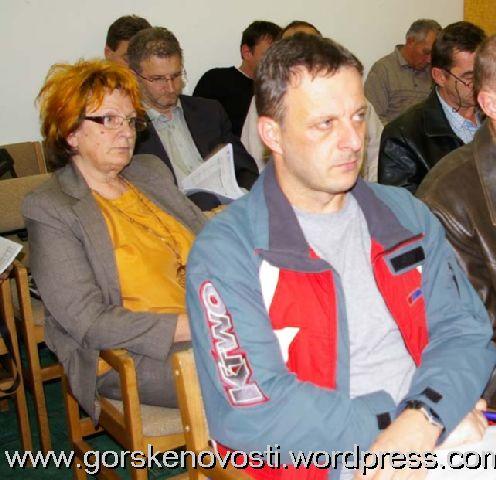 Davorka Valerija Vinski i Goran Vučinić na Aktualnom satu