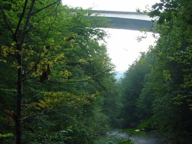 Most iznad kanjona Kamačnika