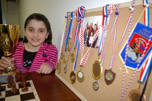 Dorotea uz medalje