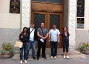 SDSS-ovci ispred gradske uprave Ogulina