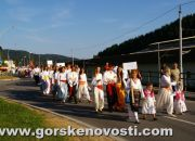 Povorka folkloraša kroz središte Moravica