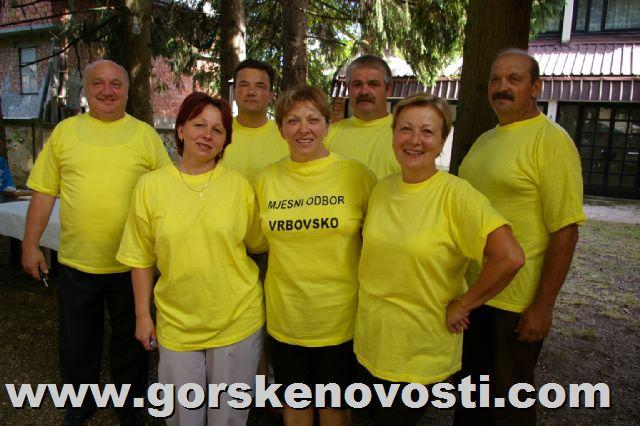 Slavljenici vijećnici MO Vrbovsko