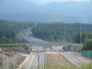 Pogled na autocestu kod Vrbovskog