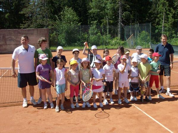 Zajednička fotografija tenisača