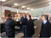 Europarlamentarac Stier u Vrbovskom obišao je i pogon tvrtke Cedar