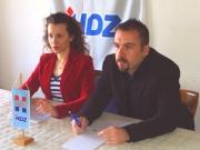 Majda Burić (HDZ Ravna Gora) i Ivan Tkalčević ( HDZ Vrbovsko)