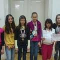 Dorote Žuteg, Ivona Krajačić, Magdalena Osojnički, Arijana Burić, Leona Krajačić i Jasna Obajdin