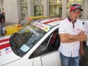 Tomislav Muhvić iz AKK Petar Klepac natječe se u u Mitsibushi Lanceru EVO