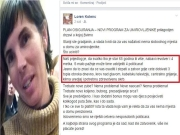 Loren Kolenc i sporni status na Facebooku