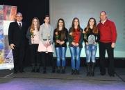 Članice ŠK Goran Vrbovsko Jasna Obajdin, Petra Jugović, Dorotea Žuteg, Nikolina Klarić, Ena Cvitan