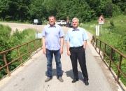 Na zajedničkoj tiskovnoj konferenciji gradonačelnik Vrbovskog Dražen Mufić i gradonačelnik Ogulina Jure Turković