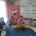 Tiskovna konferencija HNS-a: Klobučar, Turina Đurić, Rački i Kozlica
