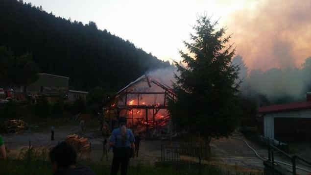 Požar Delnice