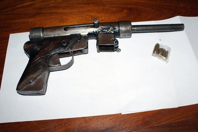 Pištolj ručne izrade