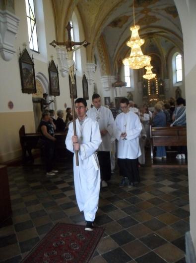 Jucer U Vrbovskom Procesijom Proslavljen Blagdan Tijelova