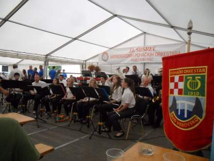 Glazbenici DVD Vrbovsko u Malom Bukovcu