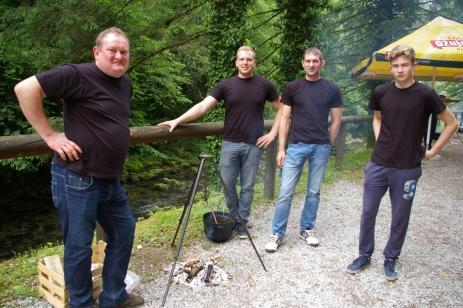 Drugo mjesto osvojila je ekipa DVD Blazevci-Plemenitas