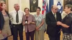 Čestitka veleposlanice dr Ferenčaku